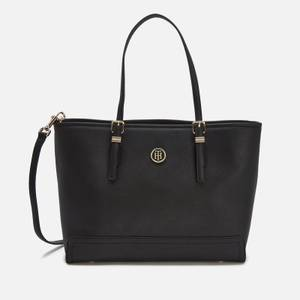 Tommy Hilfiger Women's Honey Medium Tote Bag - Black