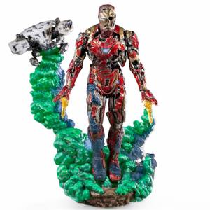 Iron Studios Spider-Man: Far From Home BDS Art Scale Deluxe Statue 1/10 Iron Man Illusion 21 cm