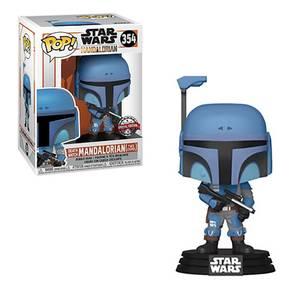 Star Wars The Mandalorian Flashback Blue EXC Funko Pop! Vinyl