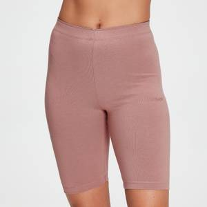 MP Damen Tonal Graphic Radlerhose – Washed Pink