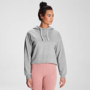 MP Women's Tonal Graphic Hoodie – Grå