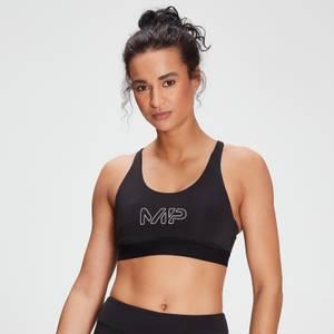 MP dámská sportovní podprsenka Branded Training − Černá