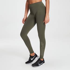 MP Branded Training Leggings til kvinder – Dark Olive