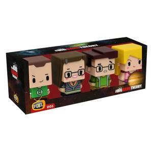 Pixel Figure Big Bang Theory Set 4 Figures 7cm