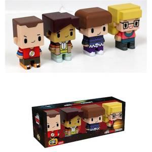Pixel Figure Big Bang Theory Set of 4 Figures 7cm