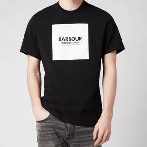 Barbour International Men's Block T-Shirt - Black