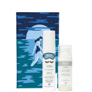REN Clean Skincare Scent to Sleep Set - Worth $83.00
