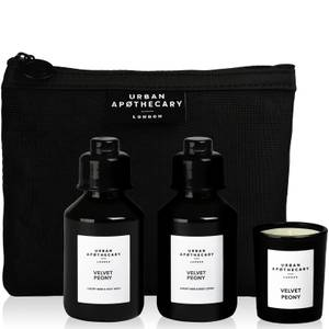 Urban Apothecary Velvet Peony Luxury Bath and Fragrance Gift Set (3 Pieces)