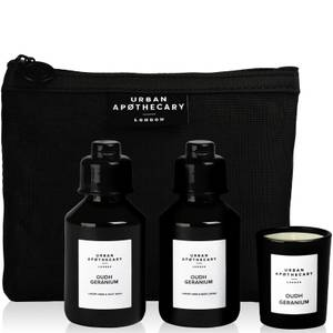 Urban Apothecary Oudh Geranium Luxury Bath and Fragrance Gift Set (3 Stück)