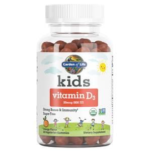 兒童維他命D3軟糖-橘子20 微克(800 IU)-60顆