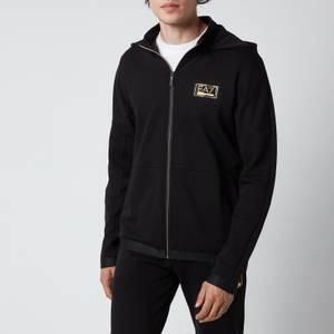 Emporio Armani EA7 Men's Full Zip Hoodie - Black