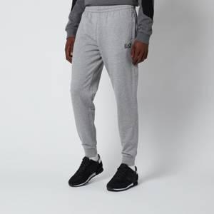 Emporio Armani EA7 Men's Small Logo Sweatpants - Grey