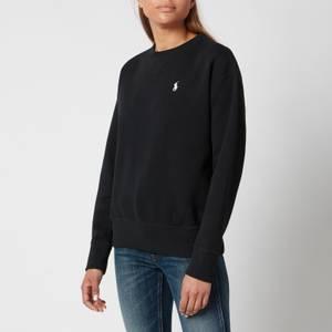 Polo Ralph Lauren Women's Logo Crew Neck Sweatshirt - Polo Black