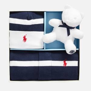Polo Ralph Lauren Boys' Sleep Suit and Teddy Box Set - Navy