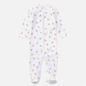Polo Ralph Lauren Boys' All Over Printed Sleep Suit - White