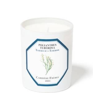 Carrière Frères Scented Candle Tuberose - Polientes Tuberosa - 185 g