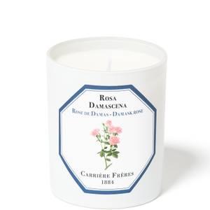 Carrière Frères Scented Candle Damask Rose - Rosa Damascena - 185 g