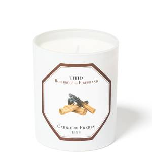 Carrière Frères Scented Candle Firebrand - Titio - 185 g