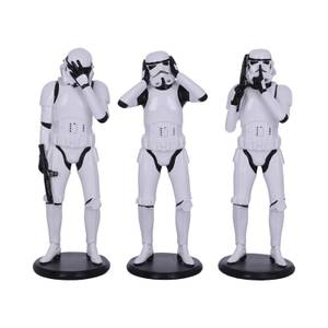 Three Wise Stormtroopers Standing Set