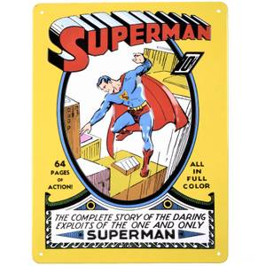 DC Comics Superman Tin Plate
