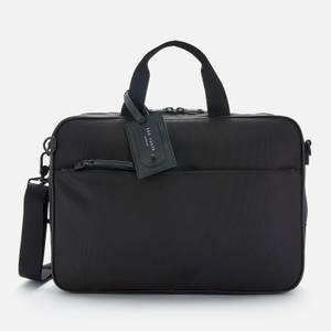 Ted Baker Men's Bruiser Travel Nylon Convertible Document Bag - Black