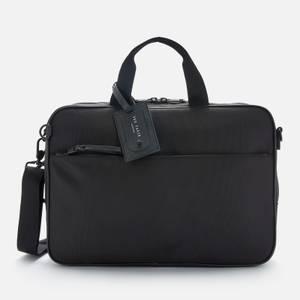 Ted Baker Men's Bruiser Travel Nylon Convertible Document Bag - Black