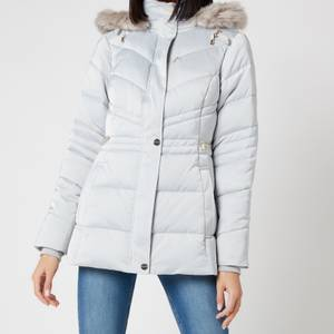 Ted Baker Women's Maliiva Padded Coat - Light Grey