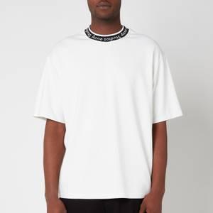 Acne Studios Men's Logo Binding T-Shirt - Optic White
