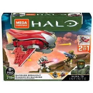 Mega Construx Halo Infinite 40 Shadow Transport Playset