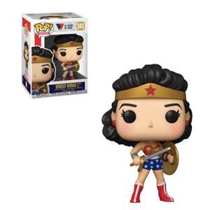 DC Comics Wonder Woman 80th Classic Wonder Woman with Shield & Sword 1950 Pop! Vinyl Figure