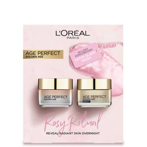 L'Oreal Paris Rosy Ritual Skin Care Gift Set for Her (Worth £40.00)