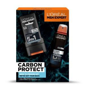 L'Oreal Men Expert Carbon Protect 2 Piece Gift Set for Him (Worth £10.00)
