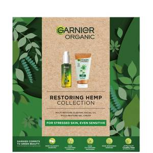 Garnier Organic Restoring & Soothing Hemp Collection (Worth £25.00)
