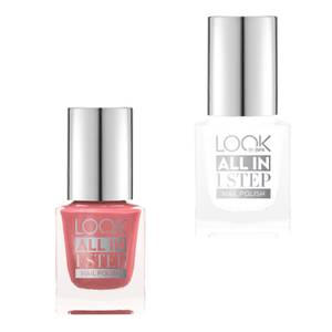 LOOK BY BIPA All In 1 Step Nagellack 020 No Not Boring / 370 Shopping With The Girls
