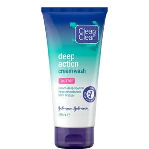 Clean&Clear Deep Action Cream Wash 150ml