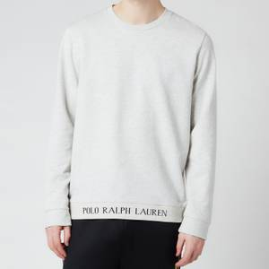 Polo Ralph Lauren Men's Long Sleeve Crewneck Sleep Top - English Heather