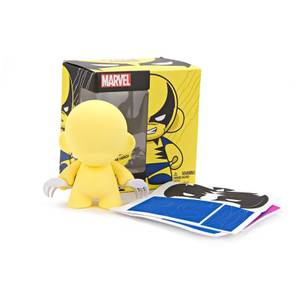 Kidrobot Marvel Mini Munny Wolverine Inch 4 Yellow