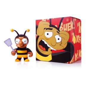 Kidrobot The Simpsons Bumblebee Man 6 Inch Yelow