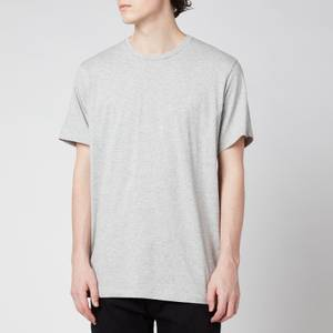 Calvin Klein Men's 3 Pack Crewneck T-Shirts - Black/White/Grey Heather