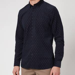 Ted Baker Men's Spoonie Printed Shirt - Navy