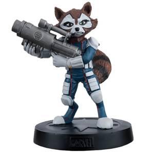 Eaglemoss Marvel Guardianes de la Galaxia Rocket Raccoon Estatua