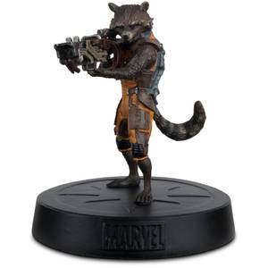 Eaglemoss Marvel Guardians of the Galaxy Rocket Raccoon Statue