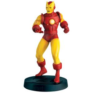 Eaglemoss Marvel 60s Avengers Special Edition Iron Man Statue
