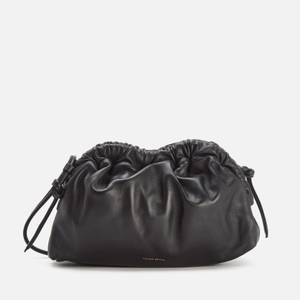 Mansur Gavriel Women's Mini Cloud Clutch Bag - Black/Flamma