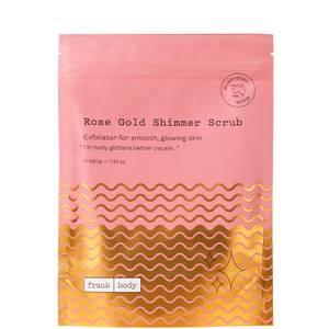 Frank Body Rose Gold Shimmer Scrub 220g