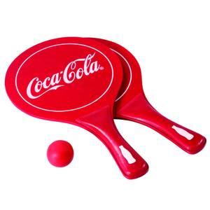 Coca-Cola Paddle Ball Set