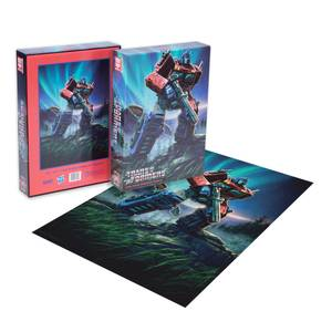 Puzzle 1000 pièces Transformers Optimus Prime Dust - Exclusivité Zavvi