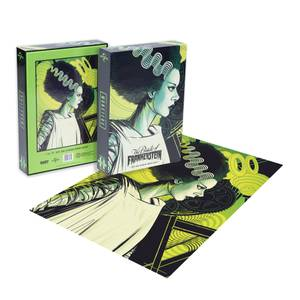 Dust! Universal Monsters The Bride of Frankenstein 1000pc Puzzle - Zavvi Exclusive