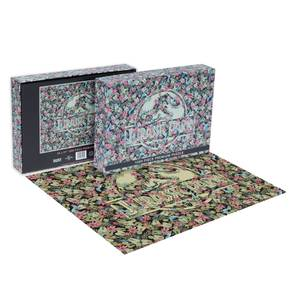 Impossible Puzzle 1000 pièces Jurassic Park Clever Girl Dust Classic Movie - Exclusivité Zavvi