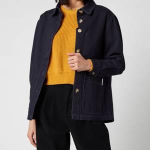L.F Markey Women's Chore Coat - Navy